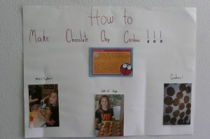 """How to"" poster for 6th grade English"
