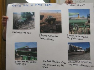 How to use a grain cart