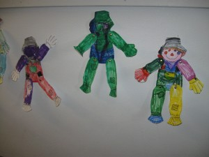 preschool scarecrows