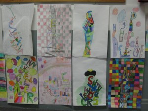 3rd and 4th grade art