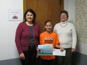 Emily earns 2nd place in CDA contest