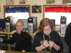 rosary making-6th grade