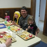 CSW lunch with parents & grandparents