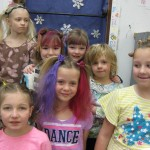 CSW wacky hair day