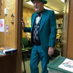 Mr. K on St. Patrick's Day