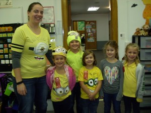 First and Second Grade Minions