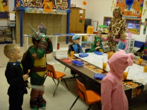 Halloween in Preschool