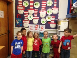 Preschool on Dr. Suess Day
