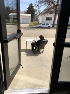 mrs-anderson-outside-office